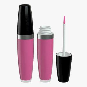 lip lipstick model