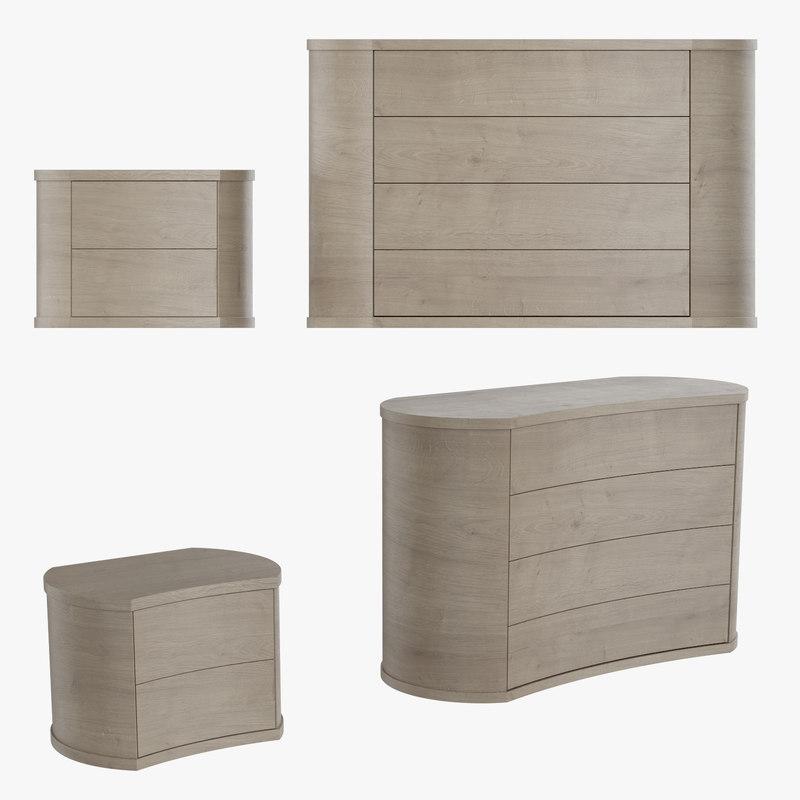 bedroom furniture room 3D