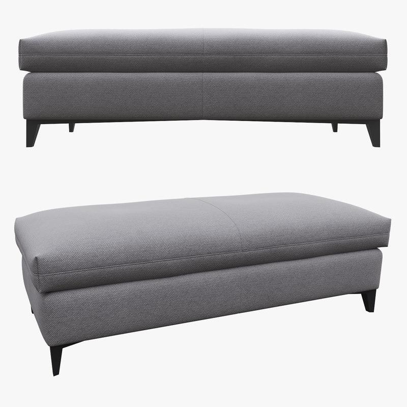 bed comfort 3D model