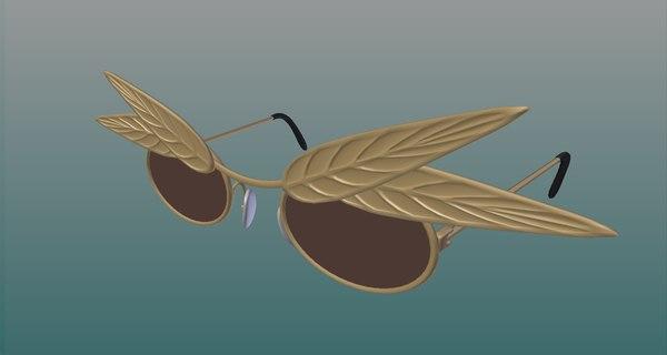 3D model sunglasse