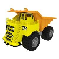 3D model mining truck big dump