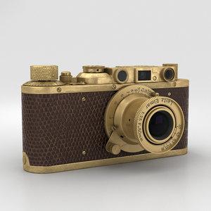 3D leica luxus ii model