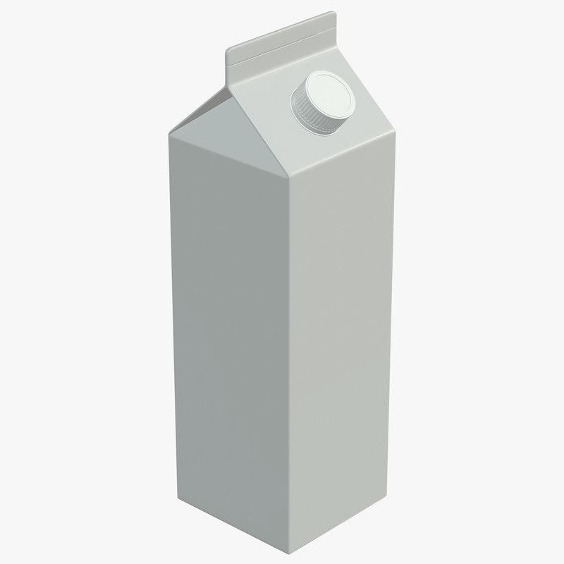 milk 3D