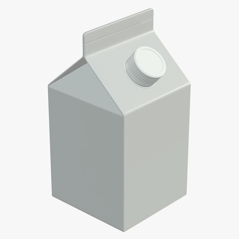 3D milk model