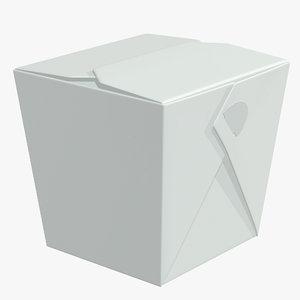 container noodle 3D
