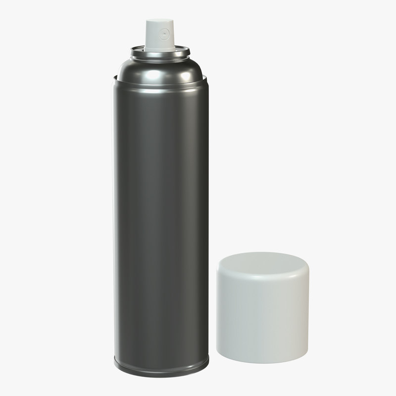 3D paint spray model