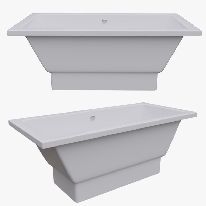 architectural bath 3D model