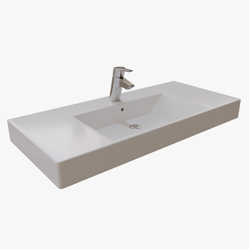 3D active bathroom model