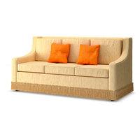 3D model light classic soft sofa