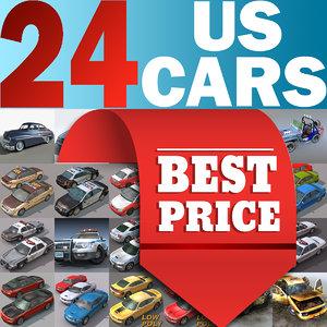 3d cars 24