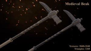metalness unreal blender 3D model