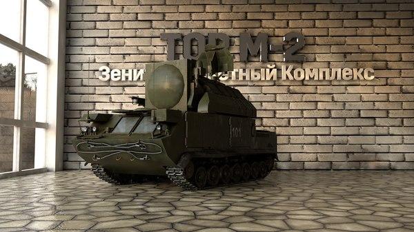 3D tor m-2 model