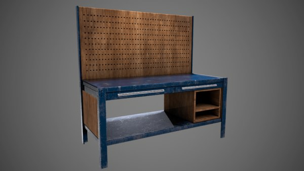 3D workbench work model