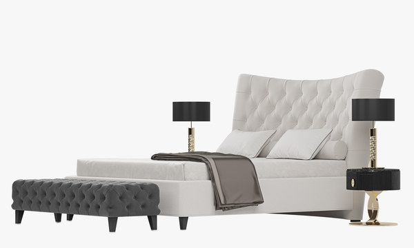 3D berenice bed opera contemporary