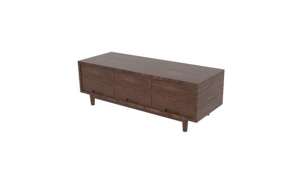 blackwood oak table triple model