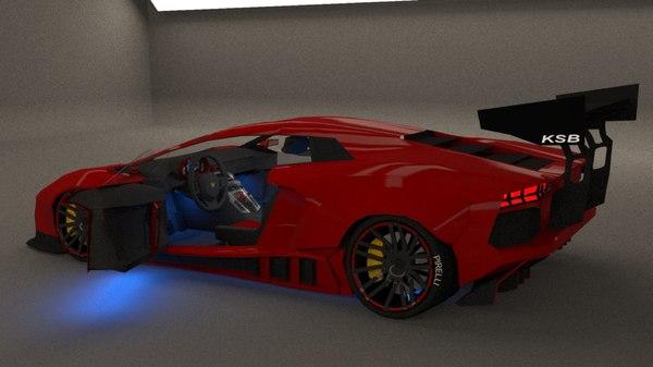 avendator 3D model