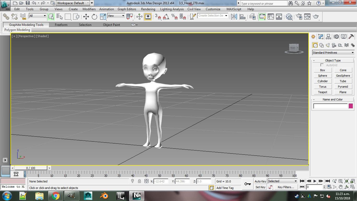 3 base 3D model