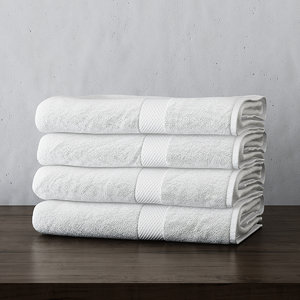 3d turkish towel collections set model