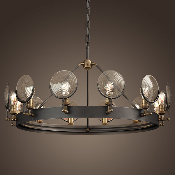 3ds max gaslight lens chandelier 42
