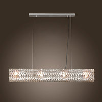 spiridon linear chandelier - 3d model