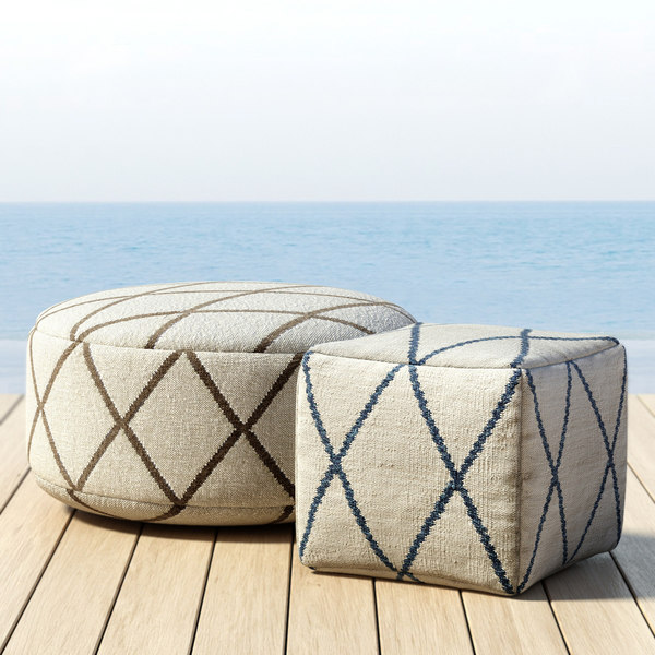 3d outdoor hand-knotted moroccan tile