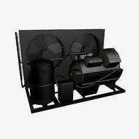 air compressor 3D model