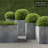 RH Square Planters
