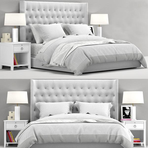 teen zadie tufted bed model