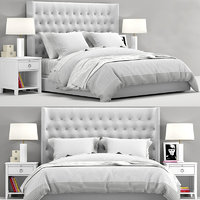 RH Teen Zadie Tufted bed