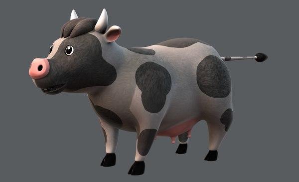 cow v01 3D model