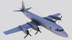 3D p-3 orion model