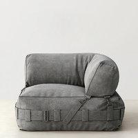 cargo lounge corner chair 3d max