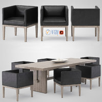 dining table pacamara 3d max