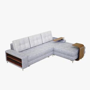 3D lightwave sofa perfection