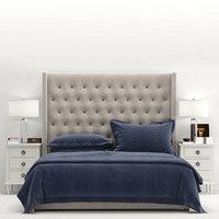 RH Adler Tufted Fabric Bed