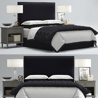 RH Lawson Upholstered bed
