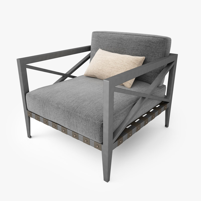 Restoration Hardware Hq: Restoration Hardware Mustique Lounge Chair Max