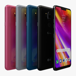 lg g7 thinq color 3D model