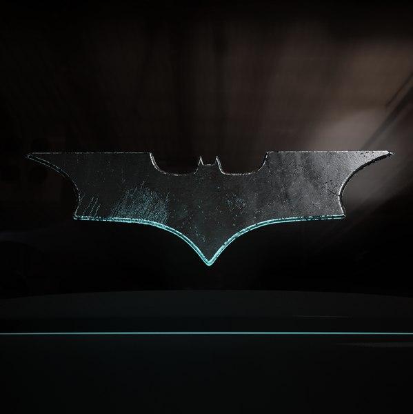 3D batarang throwing stars