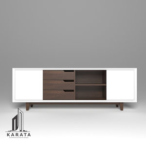 furniture credenza 3D model