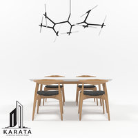 Dining Table Set 01