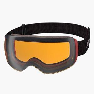 ski goggles atomic model