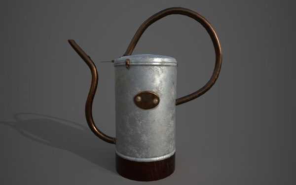 3D watering pbr real world model