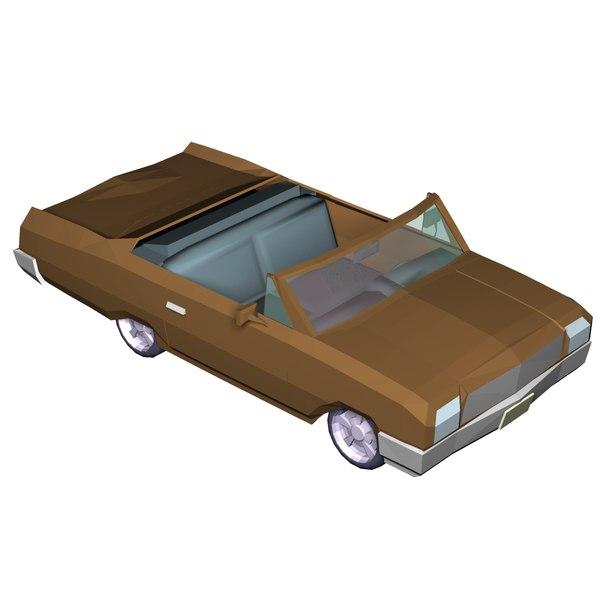 3D transport interior