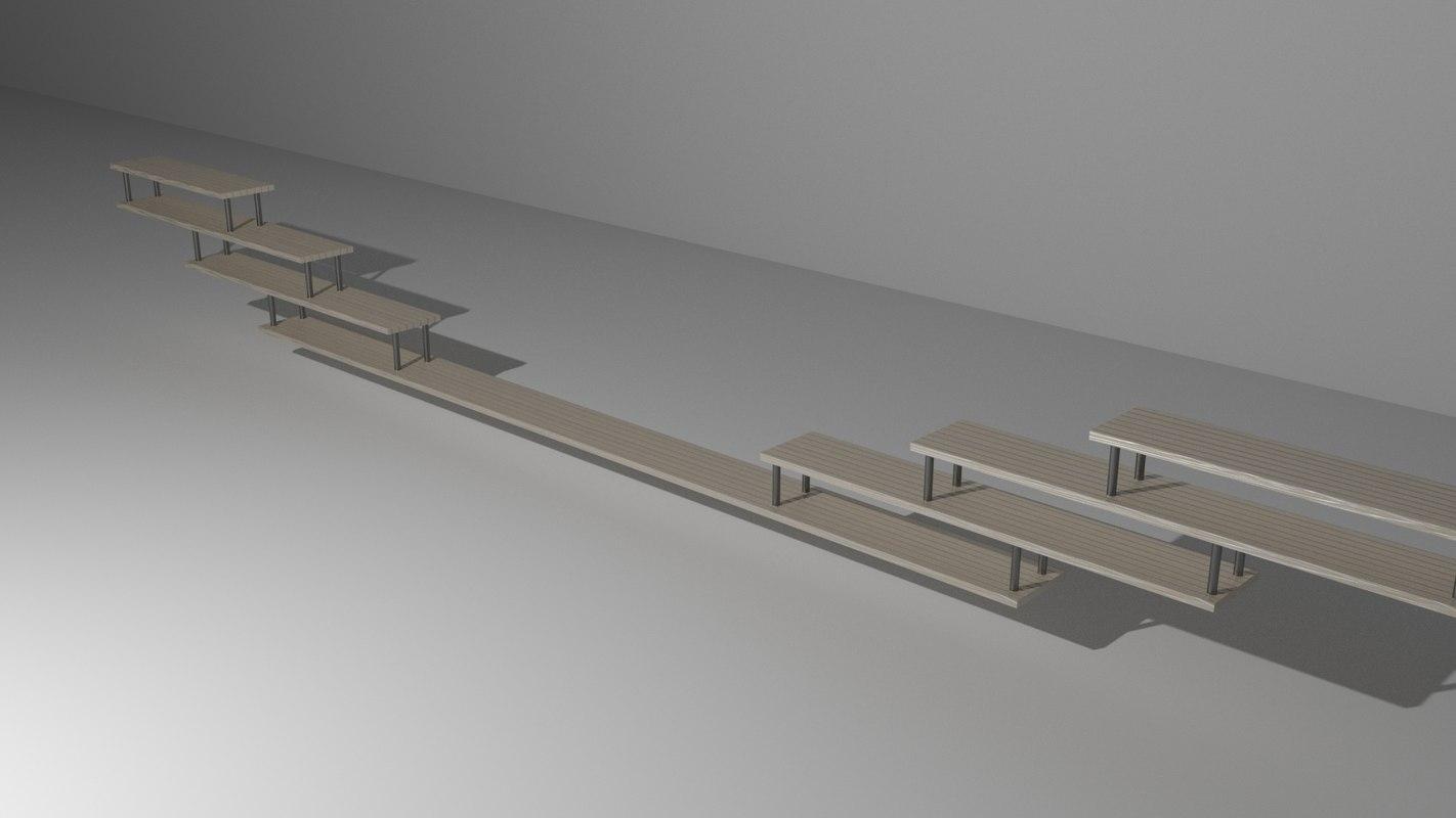 shelf rack 3D model