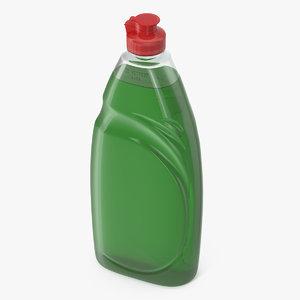 3D green dishwashing liquid washing