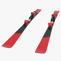3D race ski generic model