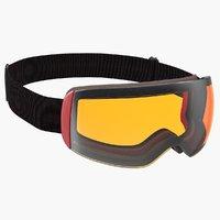 ski goggles generic 3D model