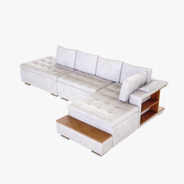 3D lightwave sofa comfort