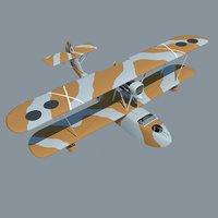 savoia-marchetti sm 62 3D model